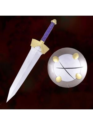 Adventurer Goblin Slayer Weapon Sword Shield Cosplay Prop for Sale