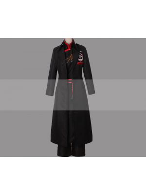D.Gray Man HALLOW Yu Kanda Cosplay Exorcist Uniform Outfit for Sale
