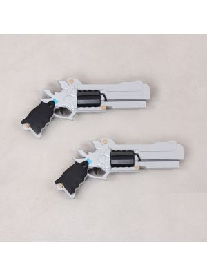 Elsword Chung Deadly Chaser Weapon Silver Shooters Cosplay Replica Props Buy