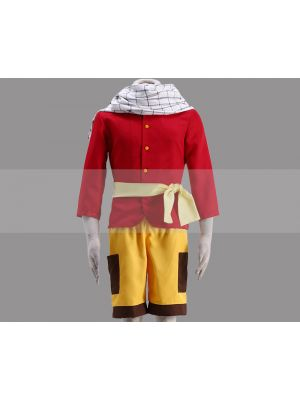 Fairy Tail Young Natsu Cosplay Outfit Buy
