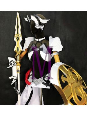 Fate/Grand Order Lancer Caenis Stage 2 Cosplay Armor Spear Shield