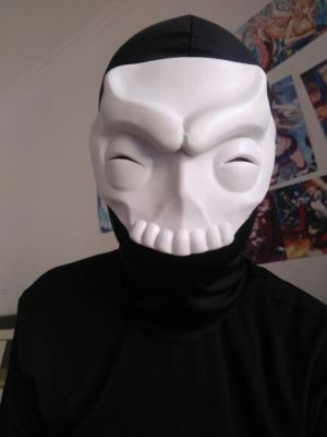Fate/Zero Assassin Hassan-i-Sabbah Cosplay Mask for Sale