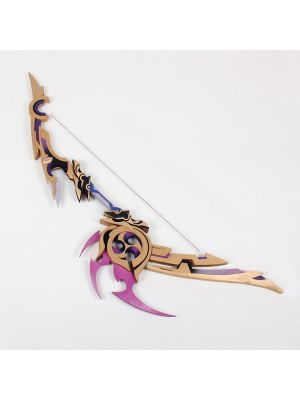 Genshin Impact Weapon Bow Thundering Pulse Cosplay Prop