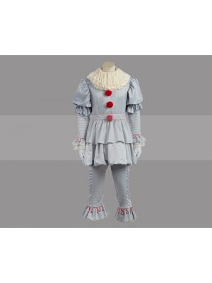 Stephen King's It: Pennywise the Clown Costume Cosplay for Sale