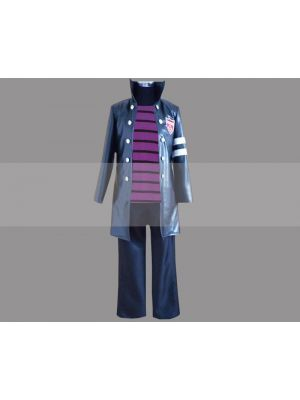 Reborn! Belphegor Cosplay Costume Varia Uniform