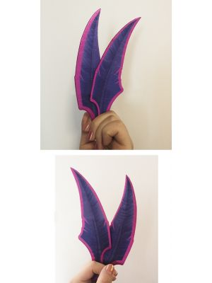 League of Legends LOL Xayah Feather Blades Cosplay Prop for Sale
