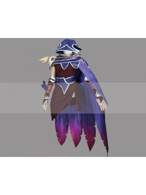 League of Legends LOL Xayah the Rebel Cosplay Costume for Sale