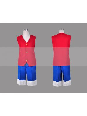 Monkey D Luffy Cosplay Costume for Sale