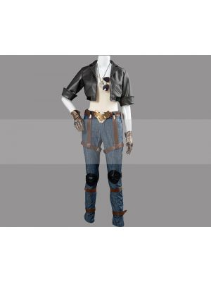 Overwatch Fareeha Amari Aviator Pharah Skin Cosplay Costume