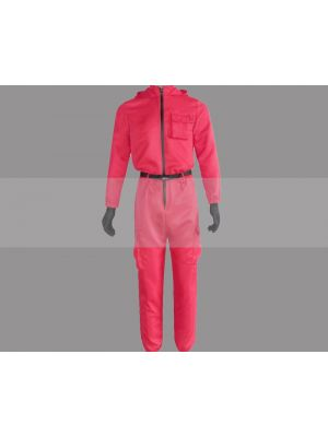 Customize Squid Game Soldier Suit Cosplay Costume for Sale