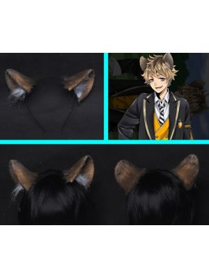 Twisted Wonderland Ruggie Bucchi Ears Tail Cosplay for Sale