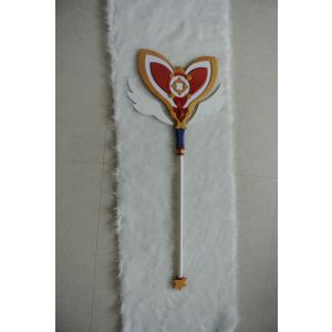 Elsword Aisha Dimension Witch Staff Cosplay Prop for Sale