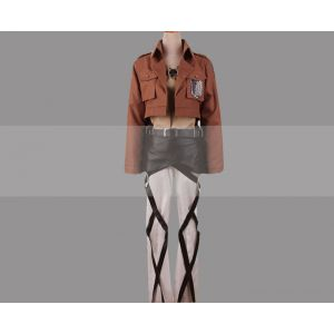 Attack on Titan Eren Jaeger Cosplay Costume for Sale