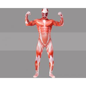 Colossal Titan Cosplay Zentai Suit