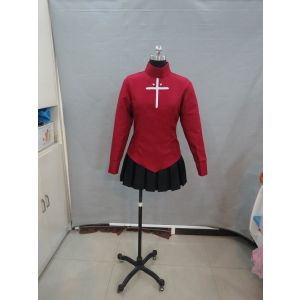 Customize Fate/stay night Rin Tohsaka Casual Outfit Cosplay Costume for Sale