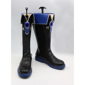 Elsword Add Hamel Navy Officer Cosplay Boots for Sale