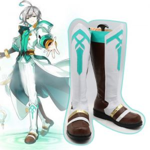 Elsword Ainchase Ishmael Ain God's Agent Cosplay Boots Buy