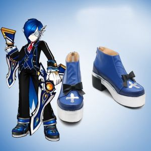Elsword Ciel Royal Guard Cosplay Shoes for Sale