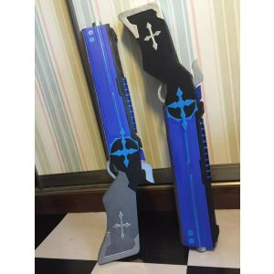 Elsword Lu/Ciel Royal Guard Cosplay Dual Gun Blades for Sale