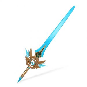 Genshin Impact Sword Skyward Blade 2nd Ascension Phase Cosplay Prop for Sale