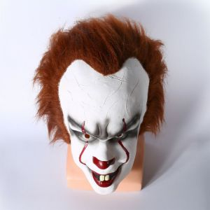 It 2017 Pennywise the Clown Mask Cosplay for Sale