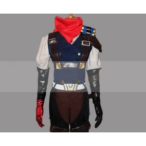 LOL Jhin High Noon Skin Cosplay Costume for Sale