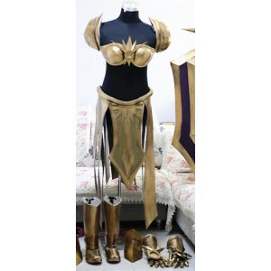 League of Legends Leona the Radiant Dawn Armor Cosplay for Sale