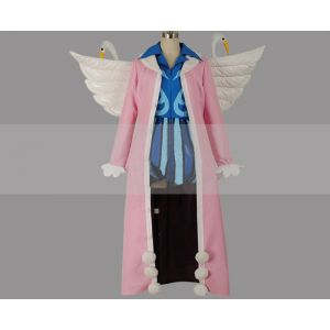 One Piece Mr. 2 Bon Clay Cosplay Costume for Sale