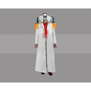 One Piece Costume Buggy Marineford Cosplay Captain Coat Buy