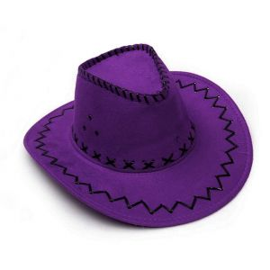 One Piece Nico Robin Cosplay Purple Hat for Sale