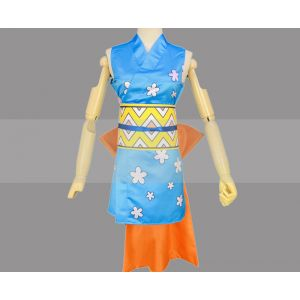 One Piece Wano Country Arc Nami Kunoichi Outfit Cosplay for Sale