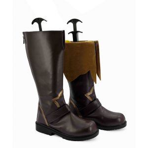 Tales of Berseria Eizen Cosplay Boots for Sale