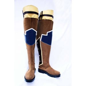 Tales of Symphonia Aster Laker Cosplay Boots for Sale