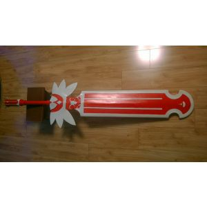 Tales of the World Radiant Mythology 3 Kanonno Grassvalley Broadsword Cosplay Prop
