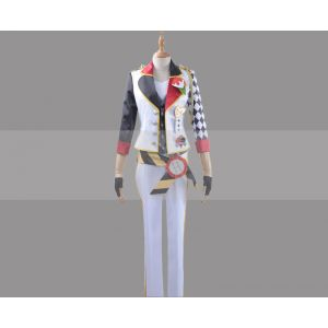 Customize Twisted Wonderland Heartslabyul Trey Clover Cosplay Costume for Sale