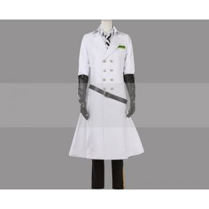 Customize Twisted Wonderland Silver Lab Coat SR Cosplay Costume for Sale
