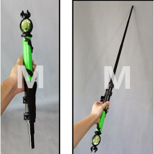 Twisted Wonderland Silver Wand Cosplay Prop