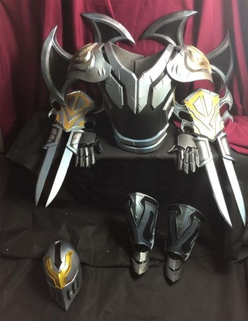 Lol Zed The Master Of Shadows Cosplay Armor For Sale