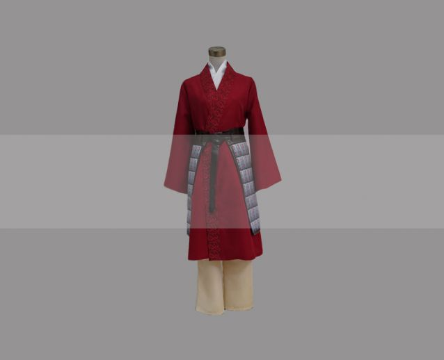 Customize Mulan 2020 Film Mulan Cosplay Costume For Sale