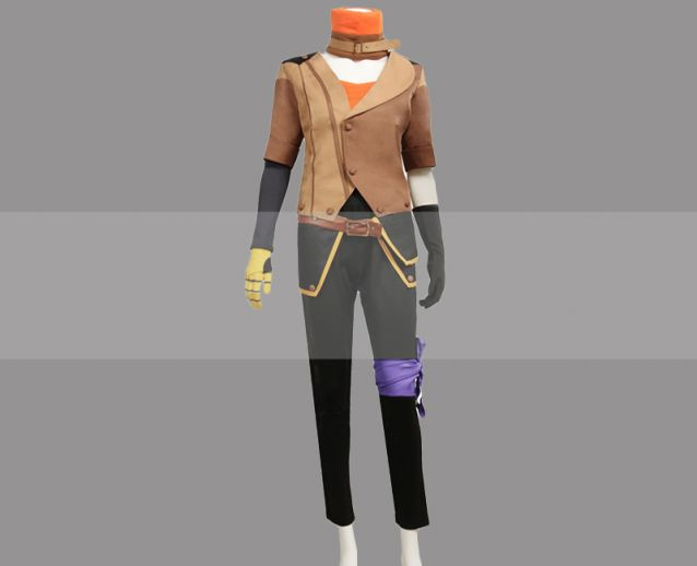 Details about  /Yang Xiaolong Xiao Long RWBY Volume 6 COSplay Costume Suit Jacket Outfit!a