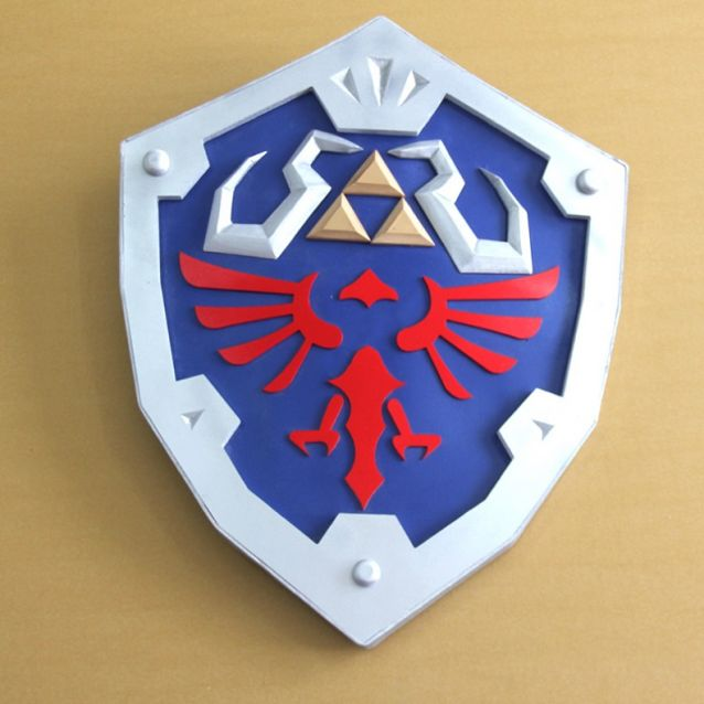 The Legend Of Zelda Breath Of The Wild Hylian Shield Cosplay Prop For Sale