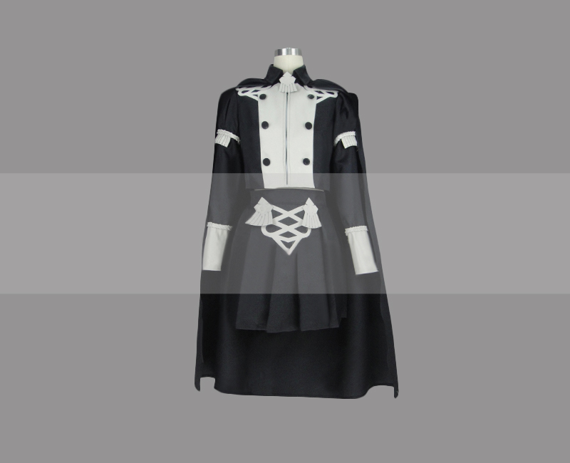 Customize Fire Emblem: Three Houses Female Byleth DLC Officers Academy Costume Cosplay Outfit
