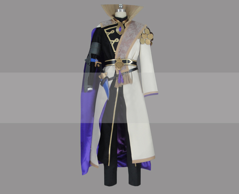 Fire Emblem: Three Houses Male Byleth Enlightened One Class Cosplay Costume