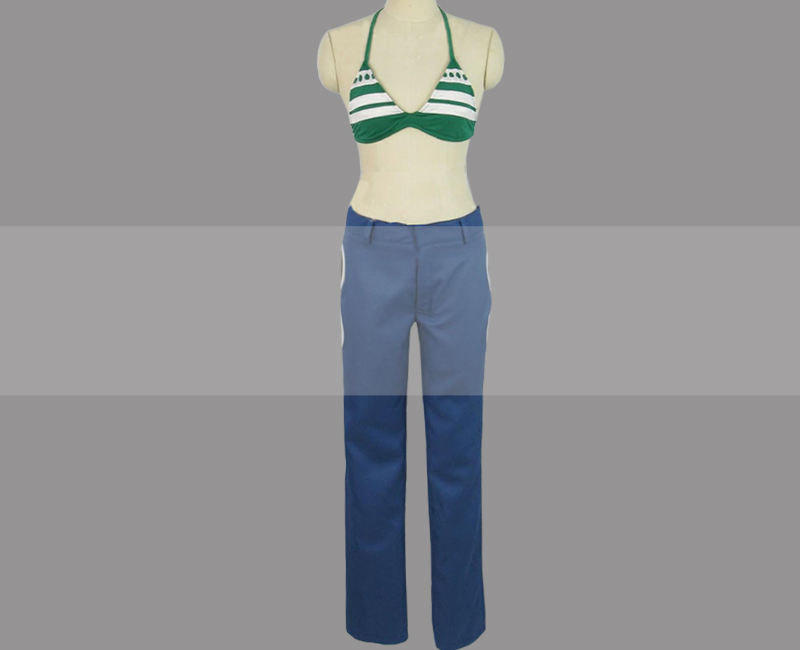 One piece nami cosplay costume custom any size/&Free shipping