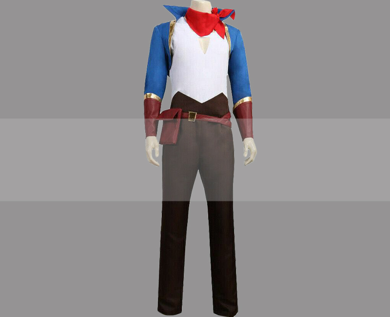 Customize She-Ra and the Princesses of Power Sea Hawk Cosplay Costume